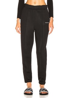 T by Alexander Wang Heavy Sleek Track Pant