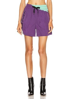 T by Alexander Wang Heavy Washed Nylon Short