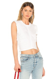 T by Alexander Wang High Twist Crop Top