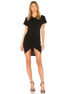 T by Alexander Wang High Twist Dress in Black. - size M (also in S,XS)