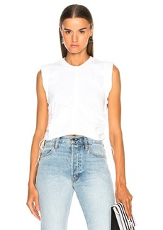 T by Alexander Wang High Twist Jersey Crop Top