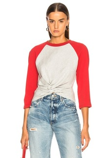 T by Alexander Wang High Twist Jersey Top