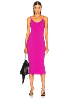 T by Alexander Wang High Twist Midi Dress