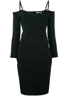 T By Alexander Wang Hourglass-shaped dress - Black