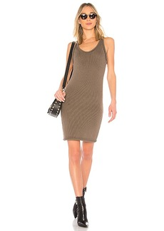 T by Alexander Wang Knit Dress in Olive. - size M (also in S,XS)