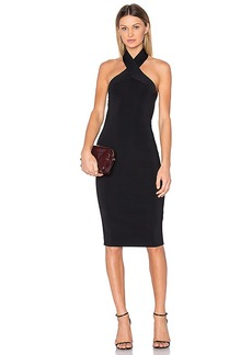 T by Alexander Wang Knit Halter Dress in Black. - size XS (also in L,S)
