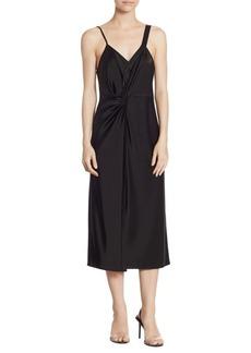 T by Alexander Wang Knot Midi Dress