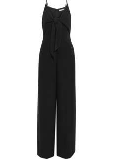 T by Alexander Wang Knotted crepe jumpsuit