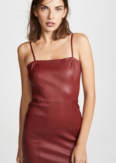 T by Alexander Wang Leather Cami Dress