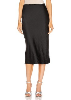 T by Alexander Wang Light Wash & Go Mid Skirt