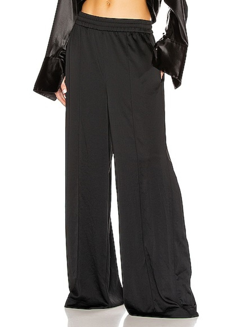 T by Alexander Wang Light Wash & Go Wide Leg Pants