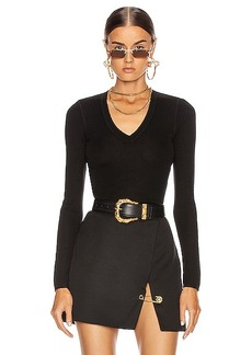 T by Alexander Wang Long Sleeve Knit Top