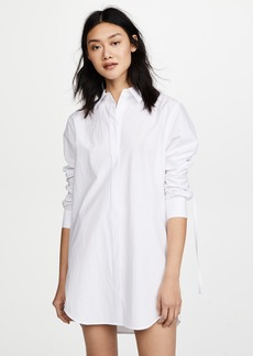 T by Alexander Wang Long Sleeve Shirtdress
