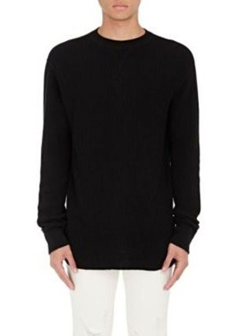 t by alexander wang t by alexander wang men 39 s cotton long sleeve t shirt casual shirts shop. Black Bedroom Furniture Sets. Home Design Ideas
