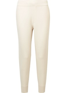 T by Alexander Wang Merino wool track pants