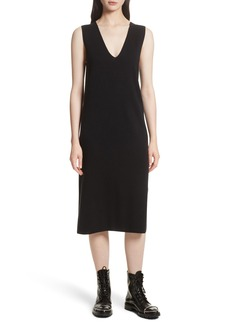 T by Alexander Wang Milano Knit Midi Dress