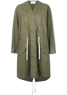 T By Alexander Wang military style jacket - Green