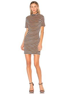 T by Alexander Wang Mock Neck Dress in Rose. - size M (also in L,S,XS)