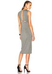T by Alexander Wang Modal Spandex Back Slit Dress