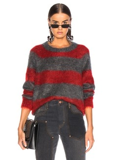 T by Alexander Wang Mohair Stripe Pullover Sweater