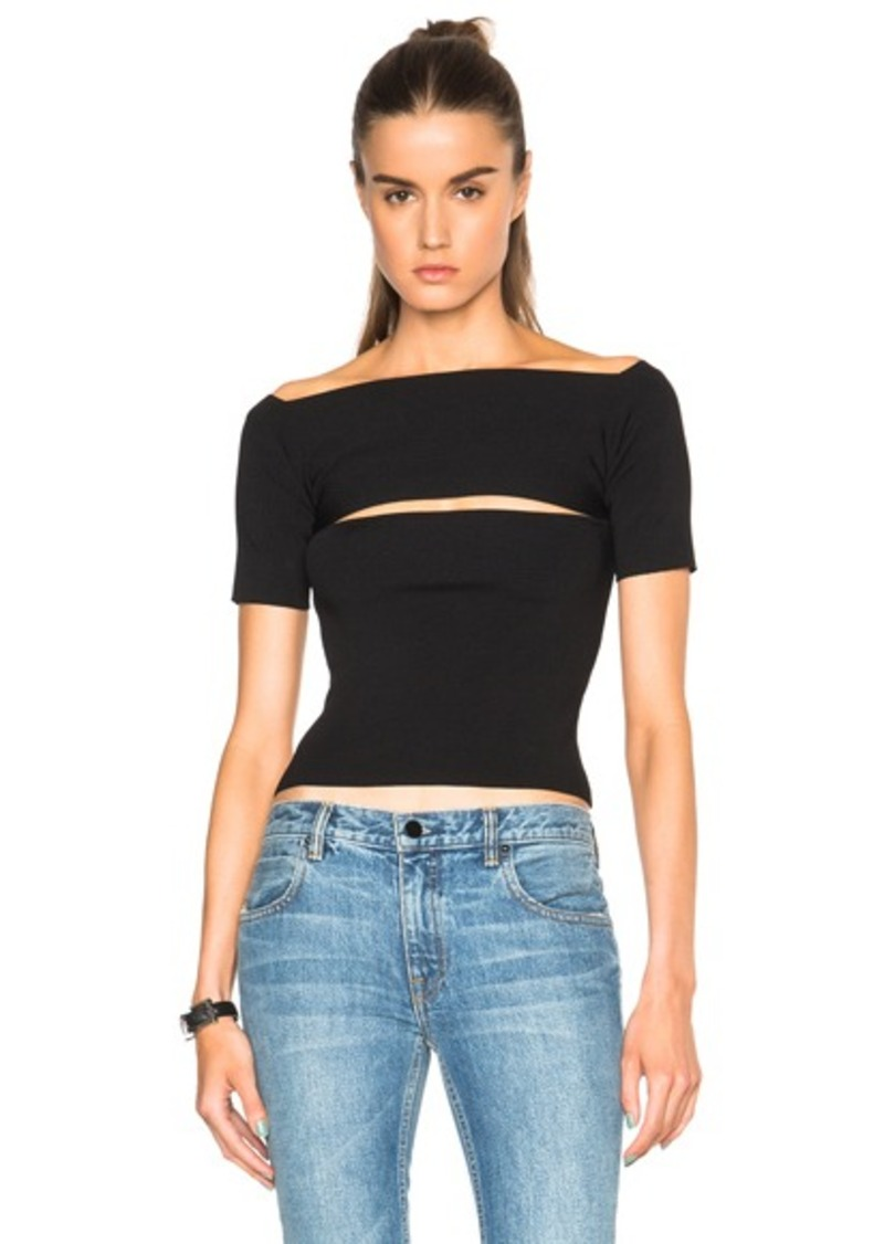 T by Alexander Wang Needle Knit Top