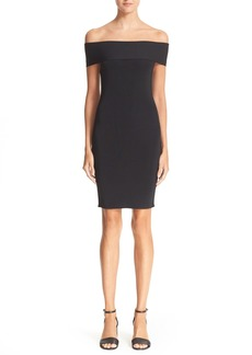T by Alexander Wang Off the Shoulder Dress
