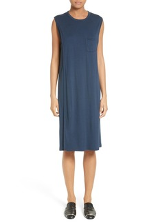 T by Alexander Wang Overlap T-Shirt Dress
