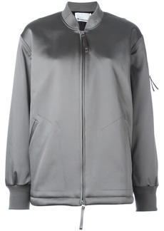 T By Alexander Wang oversized bomber jacket - Green