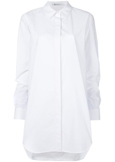 T by Alexander Wang oversized gathered sleeve shirt