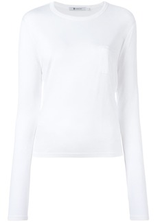 T By Alexander Wang patch pocket T-shirt - White