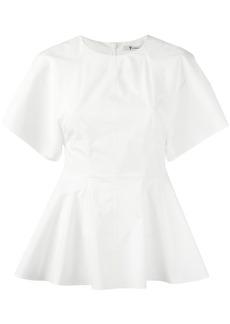 T By Alexander Wang peplum blouse - White