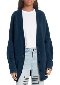 T by Alexander Wang Pinch Sleeve Wool Blend Cardigan