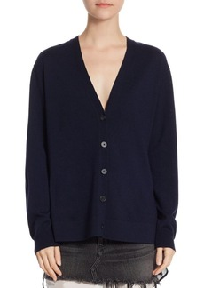 T by Alexander Wang Plaid Back Wool Sweater