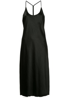 T By Alexander Wang racerback slip dress - Black