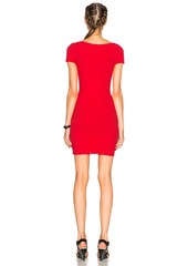 T by Alexander Wang Rib Scoopneck Dress
