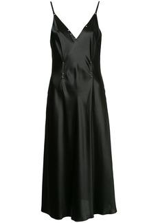 T By Alexander Wang rivet embellished dress - Black