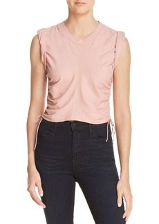 T by Alexander Wang Ruched Muscle Tee