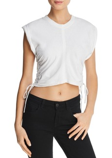 T by Alexander Wang alexanderwang.t Ruched Muscle Tee