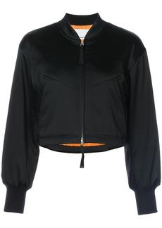T By Alexander Wang short bomber jacket - Black