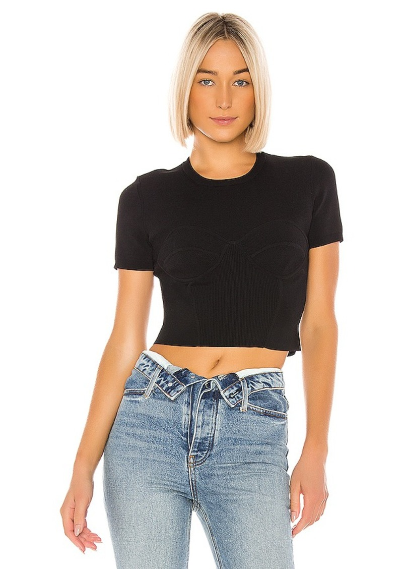 T by Alexander Wang Short Sleeve Top