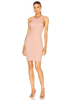 T by Alexander Wang Shrunken Rib Tank Dress