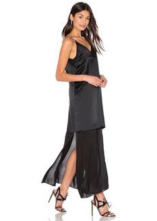 T by Alexander Wang Silk Chiffon Slip Dress