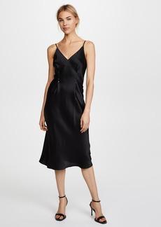 T by Alexander Wang Silk Rivet Cami Dress