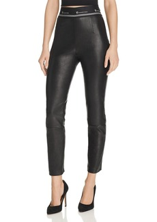 T by Alexander Wang alexanderwang.t Skinny Leather Pants