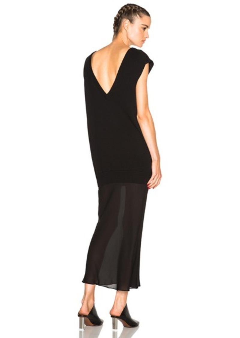 T by Alexander Wang Sleeveless Knit Tank Dress