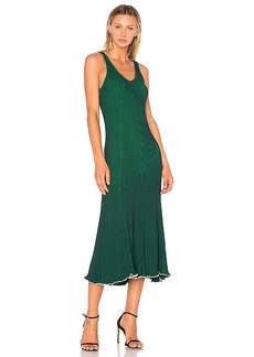 T by Alexander Wang Sleeveless Maxi Dress in Green. - size XS (also in L,M,S)