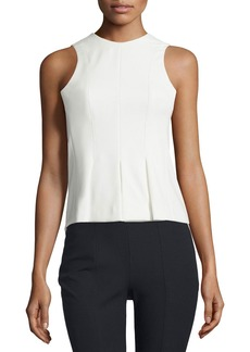 T by Alexander Wang Sleeveless Paneled Stretch Twill Top