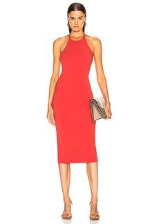 T by Alexander Wang Sleeveless T Back Midi Dress