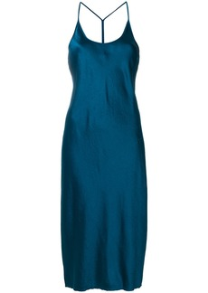 T By Alexander Wang slip dress - Blue