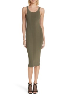T by Alexander Wang Strap Detail Body-Con Dress